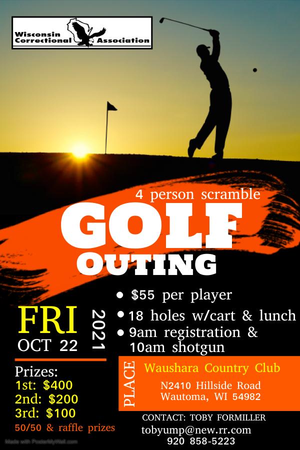 WCA Fall Golf Outing 2021